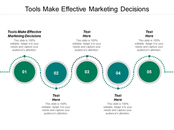Tools Make Effective Marketing Decisions Ppt PowerPoint Presentation Infographic Template Slide Download Cpb