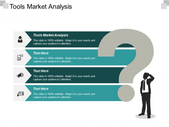 Tools Market Analysis Ppt PowerPoint Presentation Gallery Templates Cpb