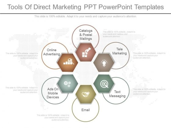 Tools Of Direct Marketing Ppt Powerpoint Templates