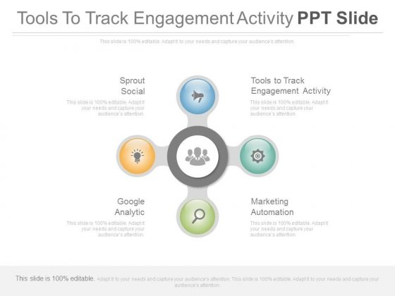 Tools To Track Engagement Activity Ppt Slide