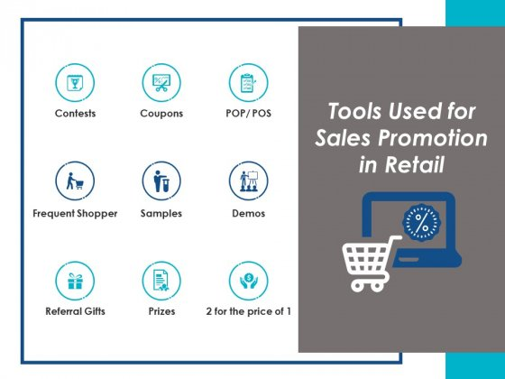 Tools Used For Sales Promotion In Retail Ppt Powerpoint Presentation Model Maker