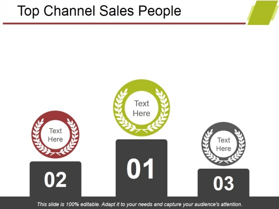 Top Channel Sales People Ppt PowerPoint Presentation Infographics Deck