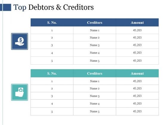 Top_Debtors_And_Creditors_Ppt_PowerPoint_Presentation_Sample_Slide_1
