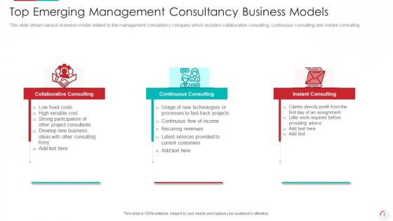 Top_Emerging_Management_Consultancy_Business_Models_Infographics_PDF_Slide_1