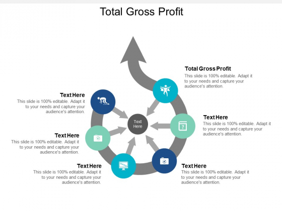Total Gross Profit Ppt PowerPoint Presentation Pictures Elements Cpb