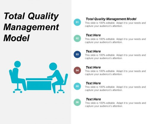 Total Quality Management Model Ppt Powerpoint Presentation Model Aids Cpb