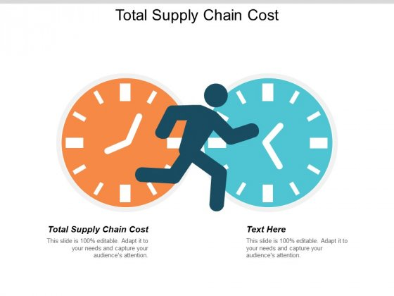 Total Supply Chain Cost Ppt PowerPoint Presentation Professional Influencers Cpb