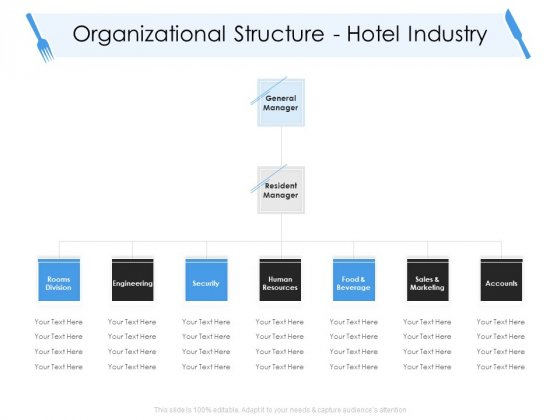 Tourism And Hospitality Industry Organizational Structure Hotel Industry Information PDF