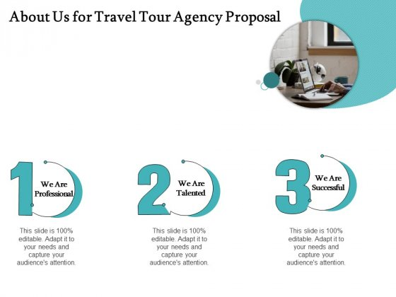 Tourism And Leisure Firm About Us For Travel Tour Agency Proposal Ppt Infographics Brochure PDF