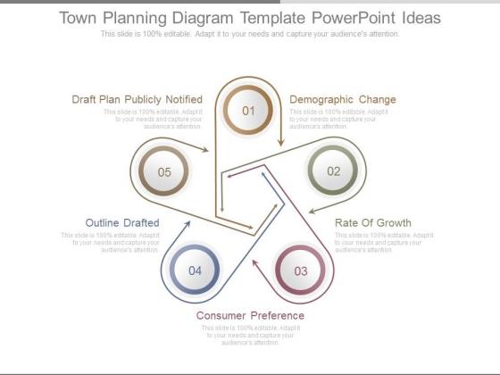 Town planning diagram template powerpoint ideas powerpoint templates toneelgroepblik Choice Image