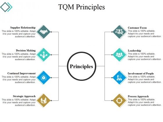Tqm Principles Ppt PowerPoint Presentation File Slides