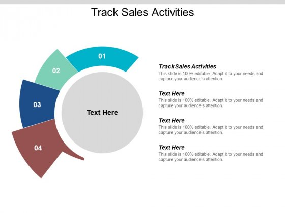 Track Sales Activities Ppt PowerPoint Presentation Good Cpb