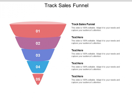 Track Sales Funnel Ppt PowerPoint Presentation Show Template Cpb Pdf