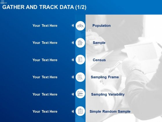 Tracking Energy Consumption Gather And Track Data Census Ppt Model Shapes PDF