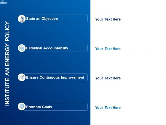 Tracking Energy Consumption Institute An Energy Policy Ppt Infographic Template Slide Portrait PDF