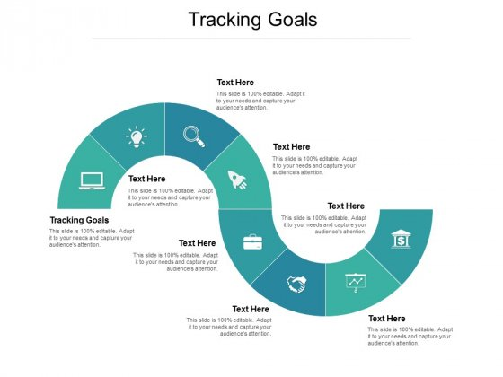 Tracking Goals Ppt PowerPoint Presentation Portfolio Graphics Template Cpb