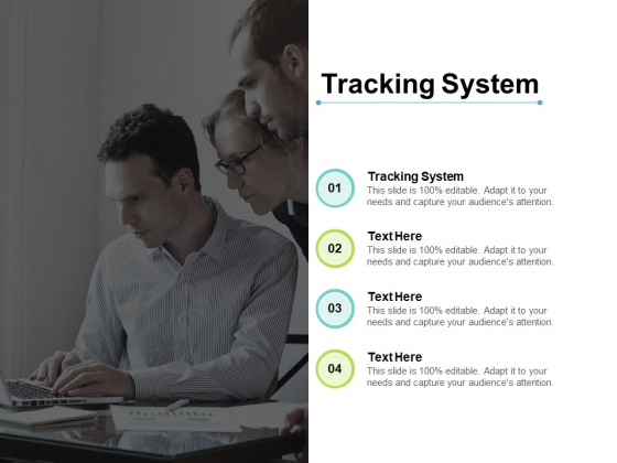 Tracking System Ppt PowerPoint Presentation Model Show Cpb