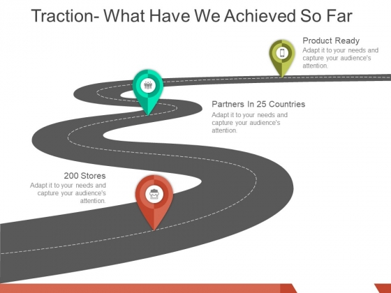 Traction What Have We Achieved So Far Ppt PowerPoint Presentation Pictures Styles