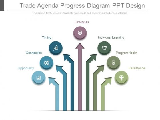 Trade_Agenda_Progress_Diagram_Ppt_Design_1