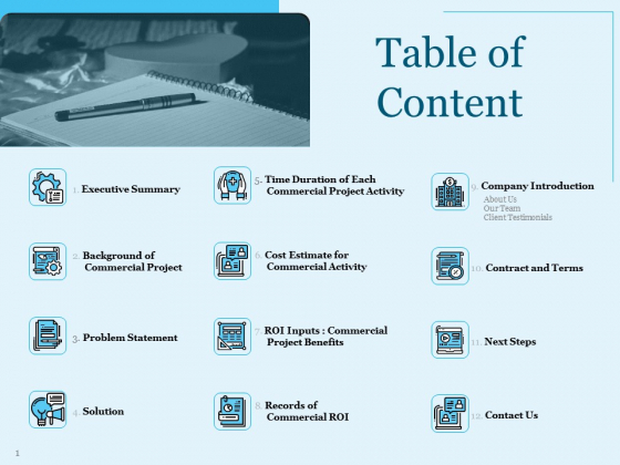 Trade Facilitation Services Table Of Content Ppt Model Infographics PDF