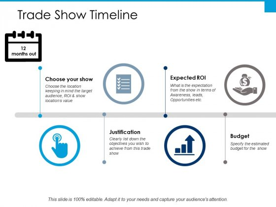 Trade Show Timeline Ppt PowerPoint Presentation Gallery Introduction