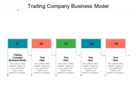Trading Company Business Model Ppt PowerPoint Presentation Inspiration Vector Cpb Pdf