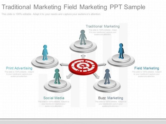 Traditional Marketing Field Marketing Ppt Sample
