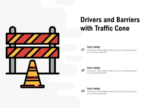 Traffic Barrier Vector Icon Ppt PowerPoint Presentation Model Background Designs