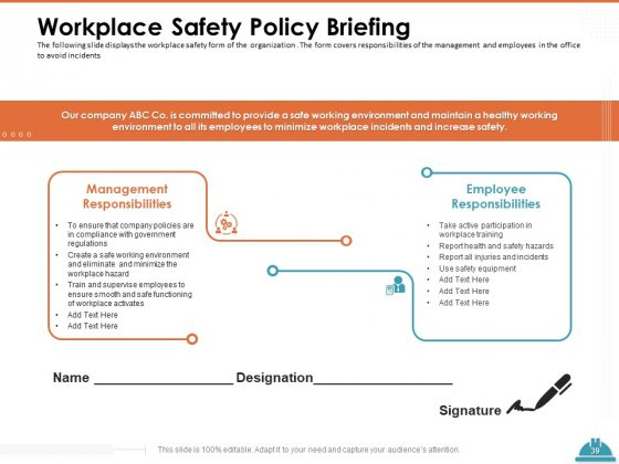 Train_Employees_For_Health_And_Safety_Ppt_PowerPoint_Presentation_Complete_Deck_With_Slides_Slide_39