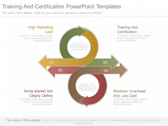 Training And Certification Powerpoint Templates