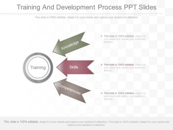 Training And Development Process Ppt Slides