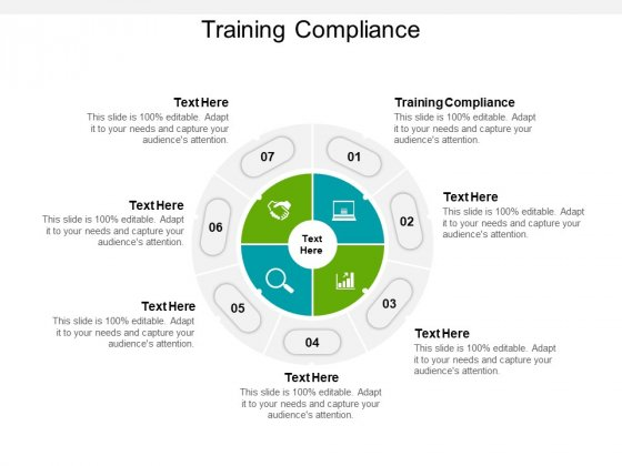Training Compliance Ppt PowerPoint Presentation Professional Demonstration Cpb