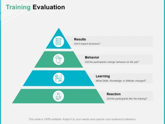 Training Evaluation Ppt PowerPoint Presentation Portfolio Aids