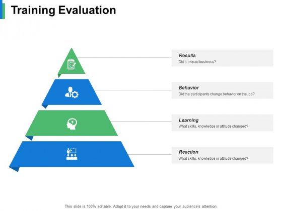 Training Evaluation Ppt PowerPoint Presentation Styles Graphics Template