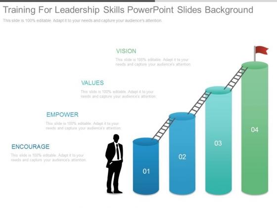 Training For Leadership Skills Powerpoint Slides Background