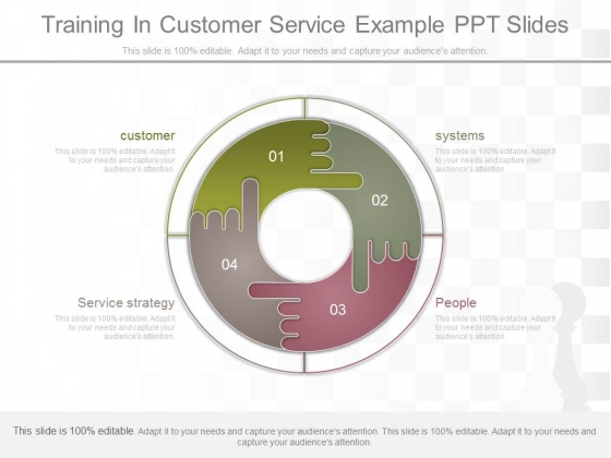 Training In Customer Service Example Ppt Slides