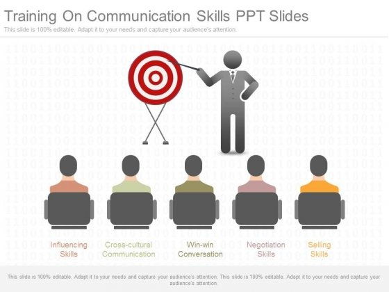 Training On Communication Skills Ppt Slides  Powerpoint Templates