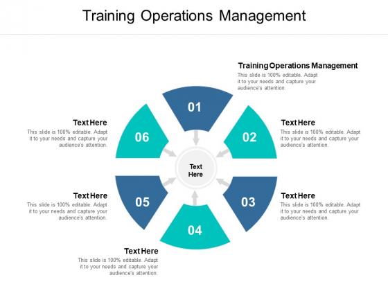 Training Operations Management Ppt PowerPoint Presentation Show Slide Portrait Cpb