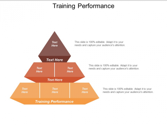 Training Performance Ppt PowerPoint Presentation Slides Designs Download