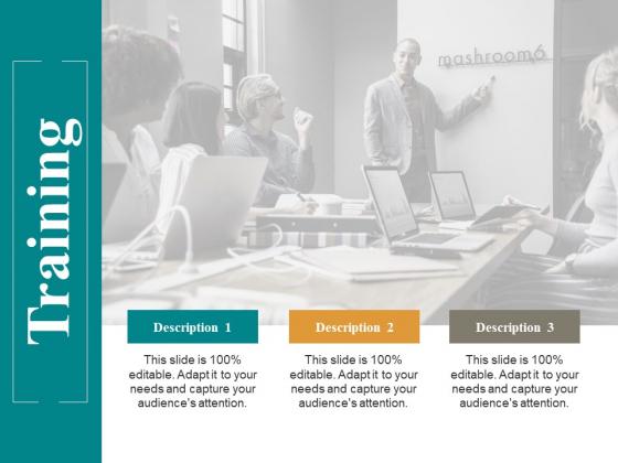 Training Ppt PowerPoint Presentation Slides Display