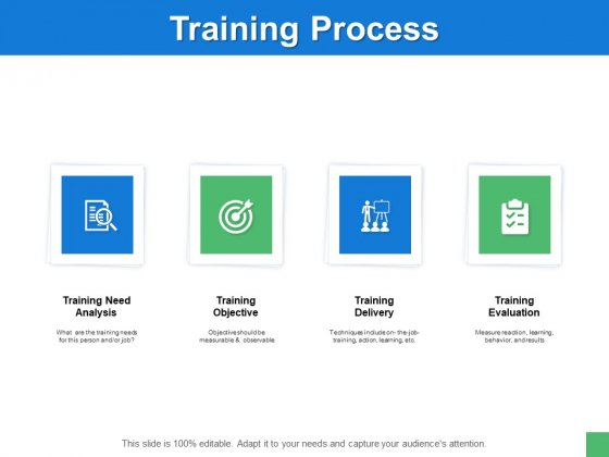 Training Process Management Ppt PowerPoint Presentation File Objects