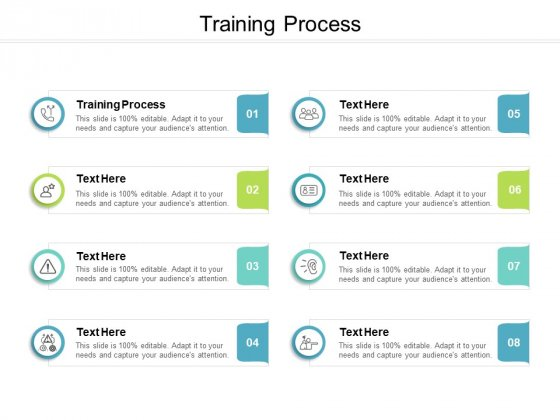 Training Process Ppt PowerPoint Presentation Infographic Template Design Ideas Cpb