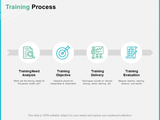 Training Process Ppt PowerPoint Presentation Professional Examples