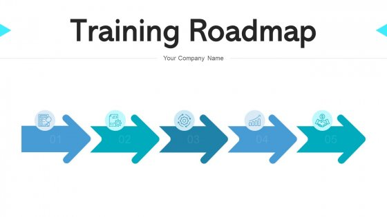 Training Roadmap Continuous Improvement Ppt PowerPoint Presentation Complete Deck With Slides