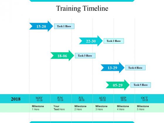 Training Timeline Ppt PowerPoint Presentation Infographic Template Portfolio