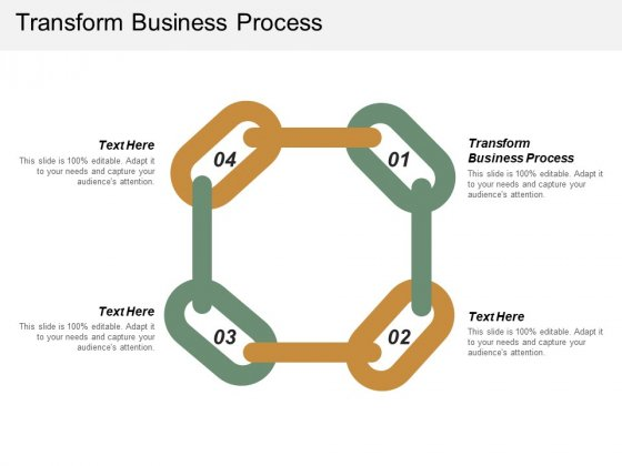 Transform Business Process Ppt PowerPoint Presentation File Layouts Cpb