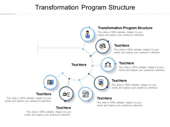 Transformation Program Structure Ppt PowerPoint Presentation Icon Background Cpb Pdf