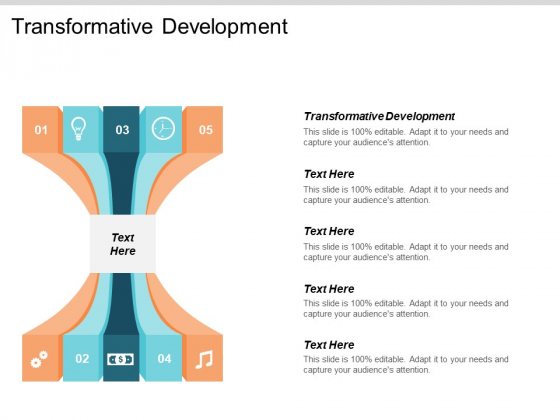 Transformative Development Ppt PowerPoint Presentation Pictures Example File Cpb