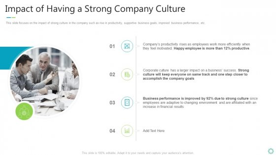 Transforming Organizational Processes And Outcomes Impact Of Having A Strong Company Culture Inspiration PDF