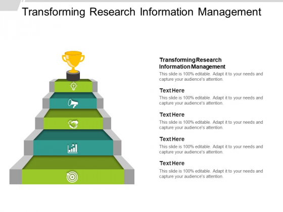 Transforming Research Information Management Ppt PowerPoint Presentation Portfolio Backgrounds Cpb
